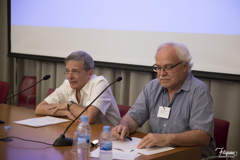 Manolo Valdés y Francesc Parcerisas